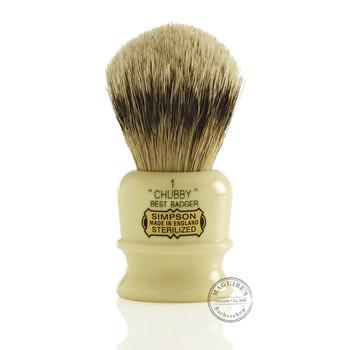 Simpsons Chubby 1 - Best Badger Shaving Brush
