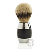 Merkur Chrome and Black 120 Shaving Brush