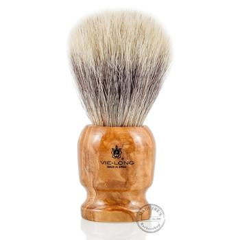 Vie-Long 13070 White Horse Hair Shaving Brush