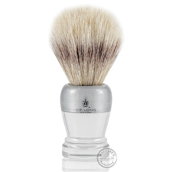 Vie-Long 13063 White Horse Hair Shaving Brush