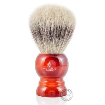 Vie-Long 13066 White Horse Hair Shaving Brush