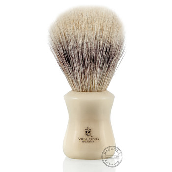 Vie-Long 13051 White Horse Hair Shaving Brush