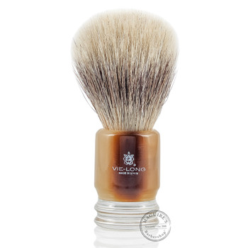 Vie-Long 13052 White Horse Hair Shaving Brush