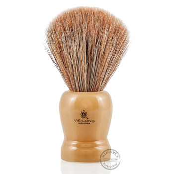 Vie-Long 12601 Brown Horse Hair Shaving Brush