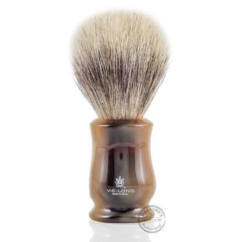 Vie-Long 12330 Mix Bristle and White Horse Hair Shaving Brush