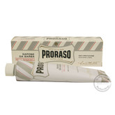 Proraso NEW Shaving Cream Tube - Aloe & Green Tea - 150ml