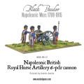 BP-34  British RHA  6 Pound Gun