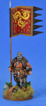 SAGA-418 Saxon War Banner on Foot