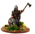 SAGA-218  Norse Gael Warlord on Foot w/ Axe