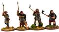 SAGA-220  Norse Gael on Foot w/ Dane Axe (Heathguard)