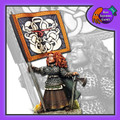 BAD-02  Shieldmaiden Standard Bearer