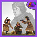 BAD-35  Female Soviet Command Group (Officer, Medic, Radioman)