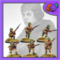 BAD-33  Female Soviet Infantry w/ Rifles