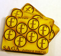 SAGA-19 MDF Fatigue Markers-f  Tokens (Illustated in Book)