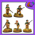 BAD-51  Women's Land Army (with Shotguns)