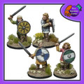 BAD-16  ShieldMaidens w/ Swords (Warriors)