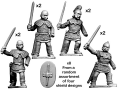 CRUS-01  Celtic  Noble warrirs
