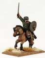 SAGA-492  Hun Warlord Mounted w/ Sword raised