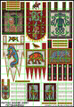 LBM-133 Pict Banner & shield Sheet