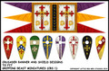LBM-139 Crusaders Banner & Shield Sheet