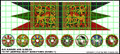 LBM-141 Rus Princes Banner & Shield Sheet