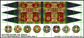 LBM-148 Scottish Banner & Shield Sheet