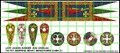 LBM-150 Saxon Banner & Shield Sheet