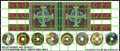 LBM-153 Welsh Banner & Shield Sheet