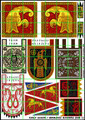 LBM-159 Early Saxon Banner Sheet 2