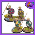 BAD-21  Shieldmaiden Heathguard w/ Spears