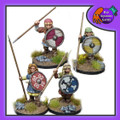 BAD-22  Shieldmaidens Warriors w/ Spears