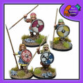 BAD-30  Shieldmaidens Warriors w/ Spears