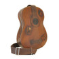 Chitarra: Bruce Range Collection – Italian Calf Leather Full-size Guitar Backpack in - Brown Side View