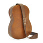 Chitarra: Bruce Range Collection – Italian Calf Leather Full-size Guitar Backpack in - Brown Back View