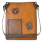 Bakem: Bruce Range Collection – Full-size Italian Calf Leather Cross-body Bag in - Cognac
