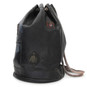 Patagonia: Bruce Range Collection: Italian Calf Leather Single Compartment Rope Handle Backpack in - Black