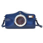 Photocamera: Radica Range Collection – Italian Calf Leather Shoulder Bag in Blue