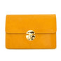 Lucrezia: Radica Range Collection – Italian Calf Leather Cross Body Clutch in  Mustard