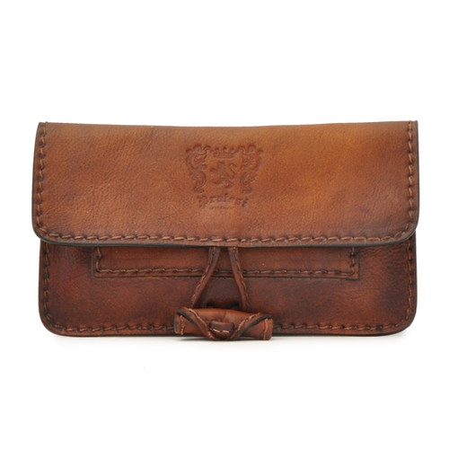 Porta Tabacco: Bruce Range Collection – Italian Calf Leather Tobacco Holder Case in Brown