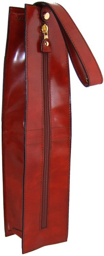 Arianna: Radica Range Collection - Italian Calf Leather Wine Case- Dark Brown
