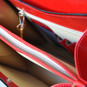 Veneziano Womens Leather Handbag - Open View