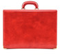 Machiavelli: Radica Range Collection –Slim Medium Italian Calf Leather Attache Briefcase in - Cherry