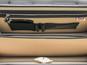 Lorenzo Magnifico II: Bruce Range Collection – Triple Compartment Italian Calf Leather Briefcase in- Black Interior closeup