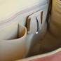 Maremma: Bruce Range Collection – Italian Calf Leather Cross-body Messenger Bag interior - Open View