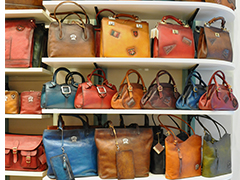 Handmade Italian leather