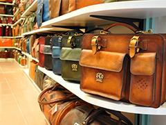 Handmade Italian leather