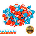 Diamond Cut Tissue Streamers by the Gross - Custom Colors (144)