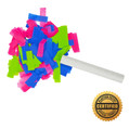 "6"" Wedding Flutter FETTI® Confetti (Custom Colors) - Hand Flick Launcher"