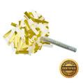 """6"""" Flutter FETTI® Confetti Stick w/50% Tissue & 50% Metallic - Hand Flick Launcher"""