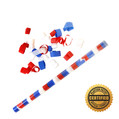 "18"" Speed Load Flutter FETTI® Confetti Tube w/Tissue Bubbles®"